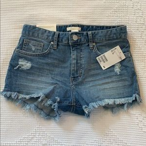 H&M Denim Shorts SZ 2 NWT!